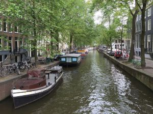Small canal in the centrum